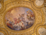 View of the ceiling, Louvre