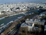 View of the Seine from the Eiffel Tower, Paris