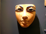 Ancient Egyptian Mask, Louvre