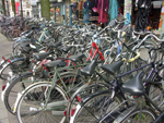 Bicycles, bicycles and more bicycles