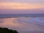 Anglesea main beach at sunset
