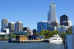Perth seen from the Swan River